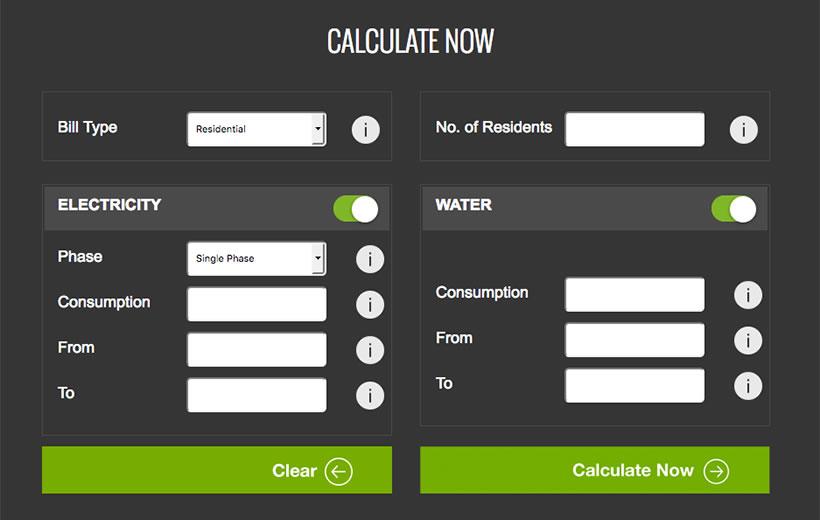calcola le bollette online