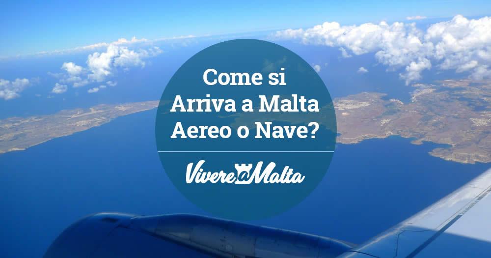 Come arrivare a malta dall 39 italia in aereo e in nave - Trovare casa a malta ...