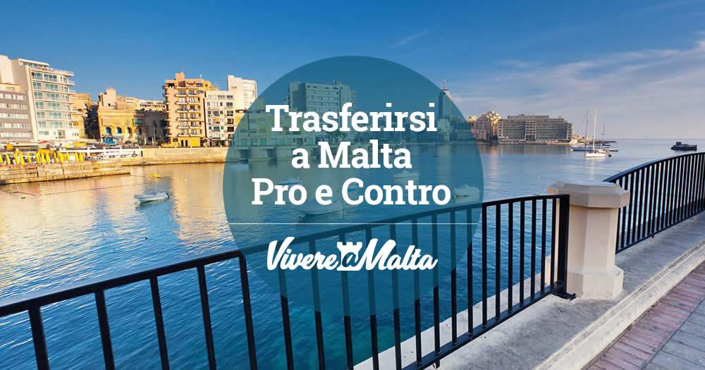 Pro e contro del trasferirsi a malta vivere a malta - Trovare casa a malta ...