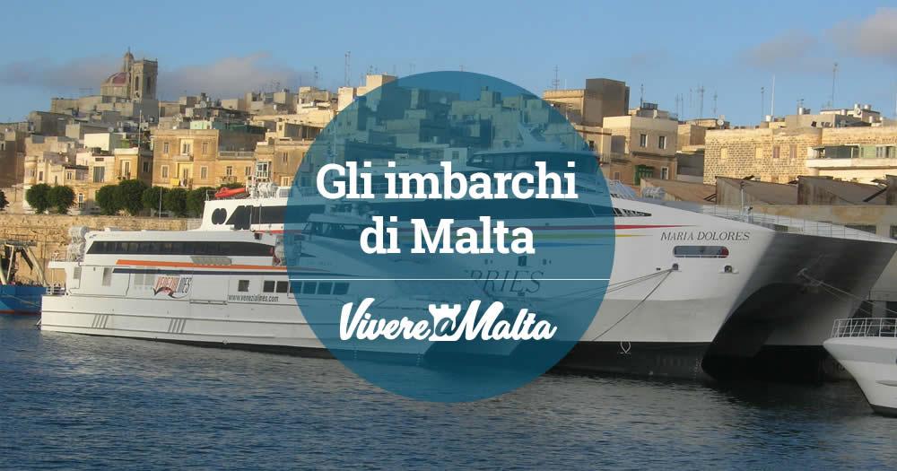 Tutti gli imbarchi di malta vivere a malta - Trovare casa a malta ...