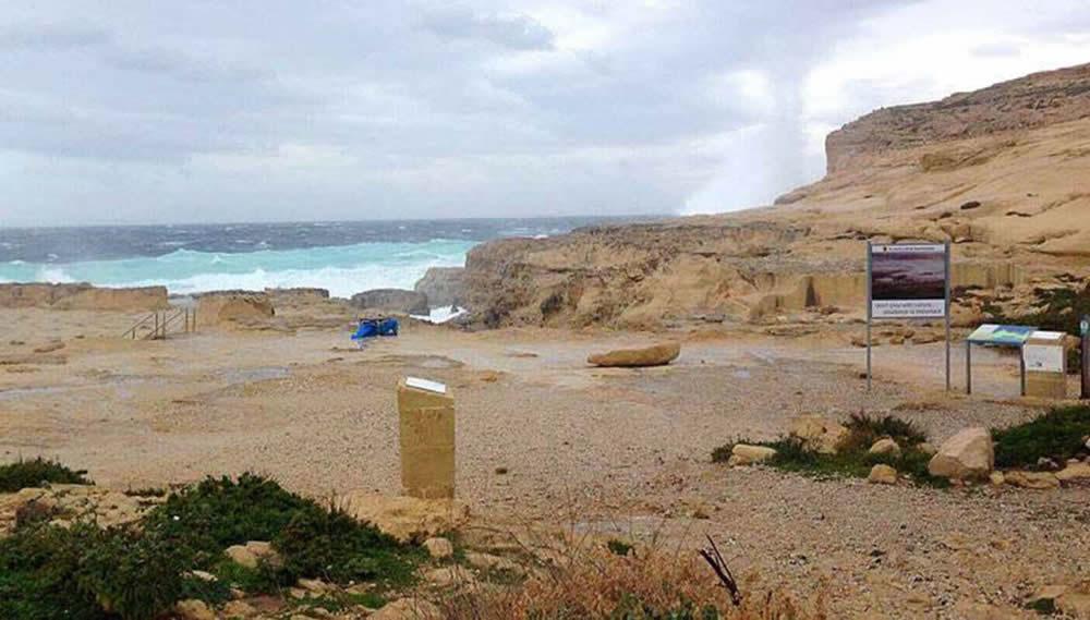 Azure Window Collapsed Malta