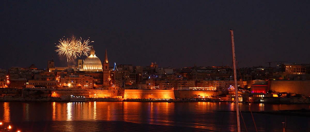 Malta Fuochi Artificiali