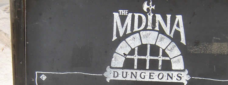 Cosa Vedere a Malta - Dungeons a Mdina
