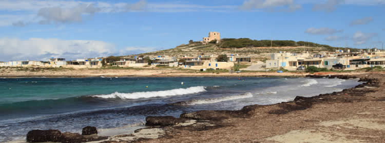 Le spiagge di Malta - Armier Bay