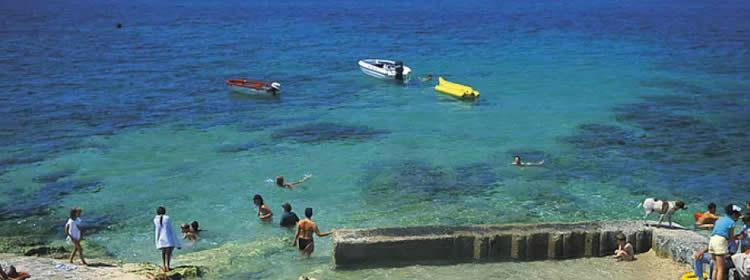 Le spiagge di Malta - Bugibba Front
