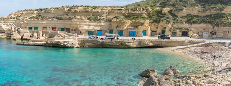 Le spiagge di Gozo - Dahlet Qorrot
