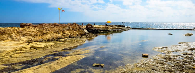 Le spiagge di Malta - Fond Ghadir Bay