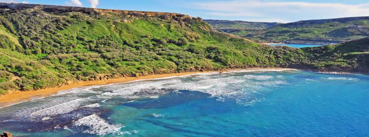 Le spiagge di Malta - Ghajn Tuffieha