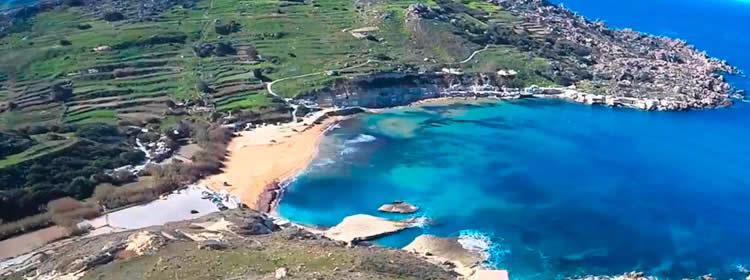 Le spiagge di Malta - Gnejna Bay