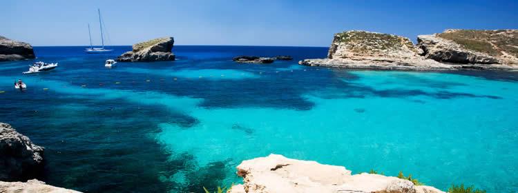 Le spiagge di Comino - Blue Lagoon