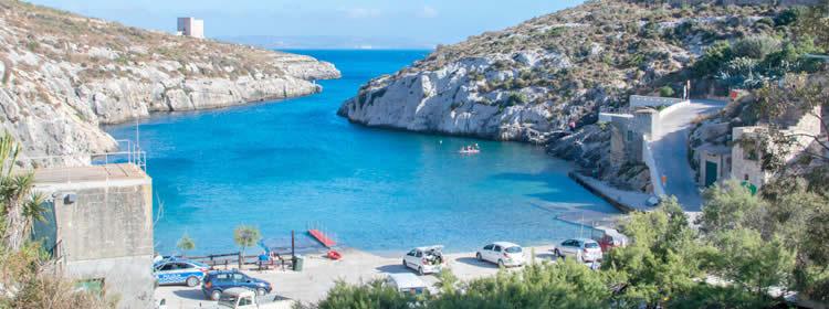 Le spiagge di Gozo - Mgarr ix-Xini