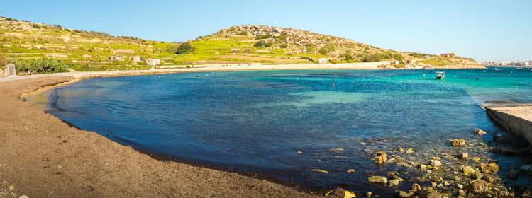 Le spiagge di Malta - Mistra Bay