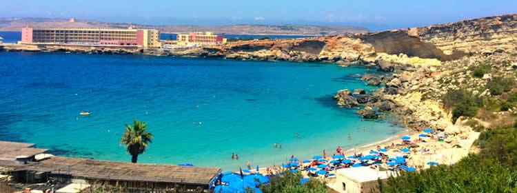 Le spiagge di Malta - Paradise Bay