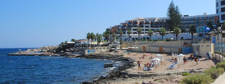 Le spiagge di Malta - Perched Beach