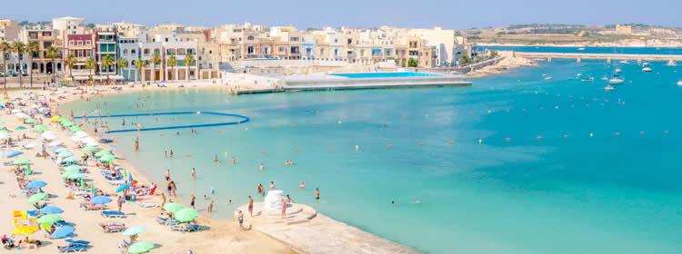 Le spiagge di Malta - Pretty Bay
