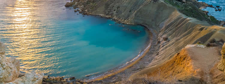 Le spiagge di Malta - Qarraba Bay