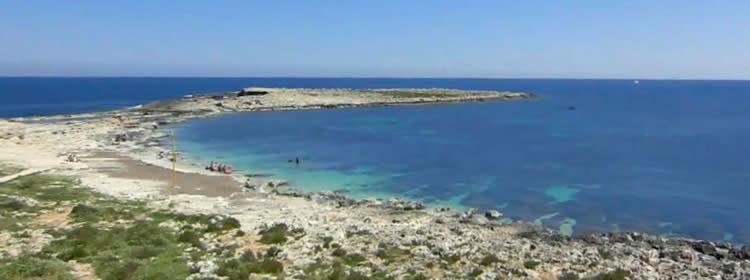 Le spiagge di Malta - Qawra Point