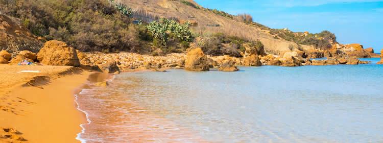 Le spiagge di Gozo - San Blas Bay