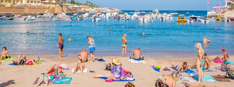 Le spiagge di Malta - St Georges Bay