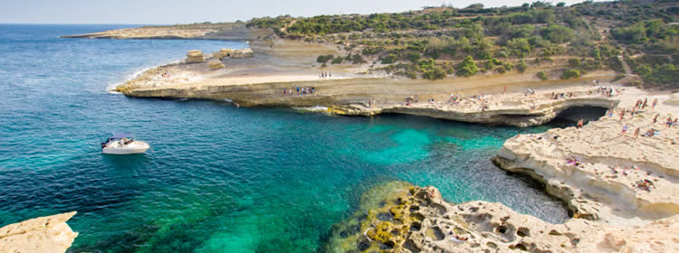 Le spiagge di Malta - St Peters Pool e Kalanka Bay