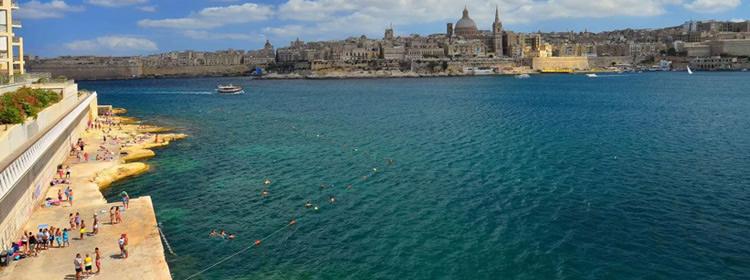 Le spiagge di Malta - Tigne Beach
