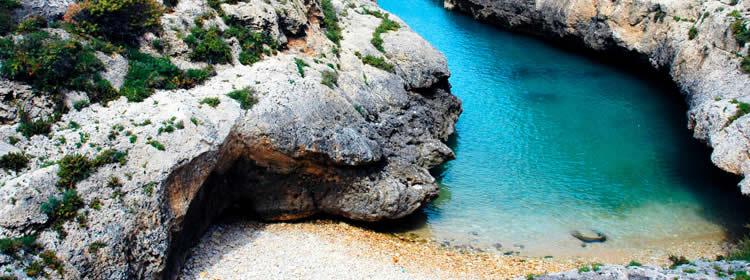 Le spiagge di Gozo - Wied il-Ghasri