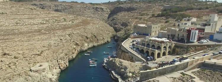 Le spiagge di Malta - Wied iz-Zurrieq